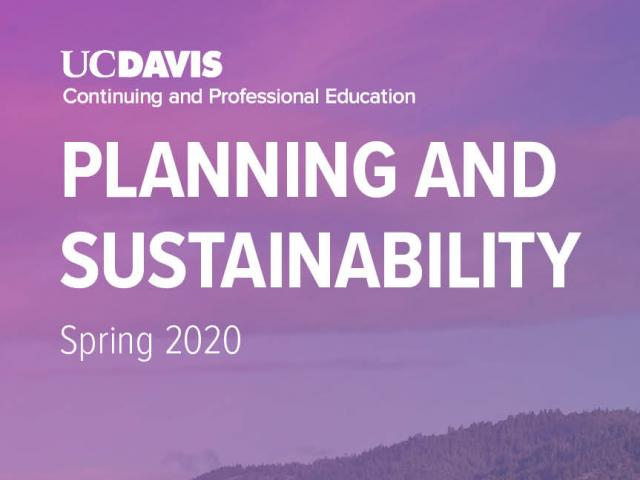 Spring Planning and Sustainability Brochure