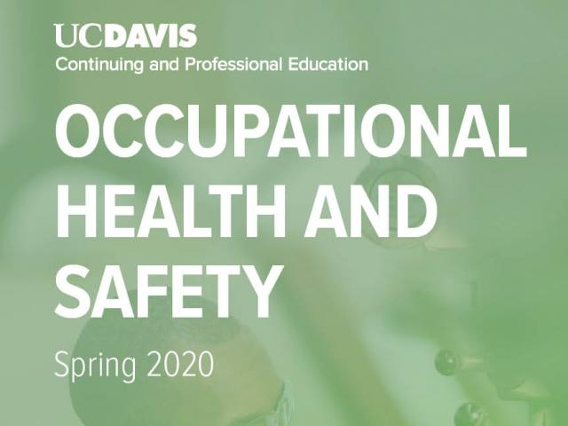 Spring Occupational Health and Safety Brochure